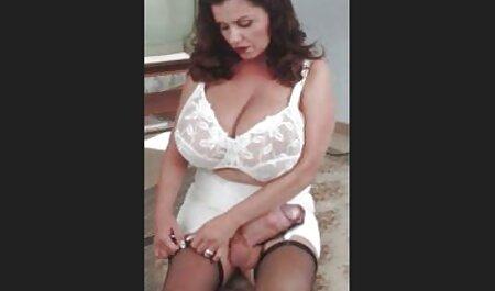 Mujer videos de veteranas culonas Sexy obtiene culo jodido a pelo